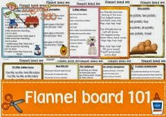 Flannel board 101