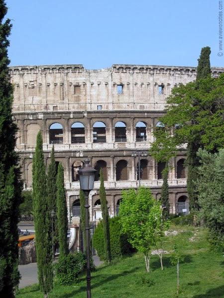 Colosseum seen from Colle Oppio
