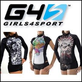 Womens swim shirts
