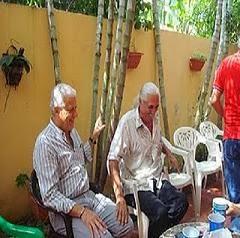 En uno de los cumpleaños de Henry martínez en San Cristóbal