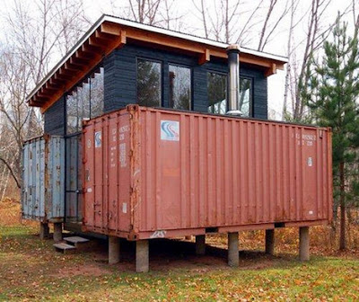 Shipping Container Homes April 2011