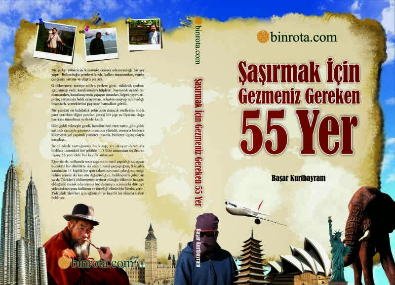 SASIRMAK ICIN GEZMENIZ GEREKEN 55 YER