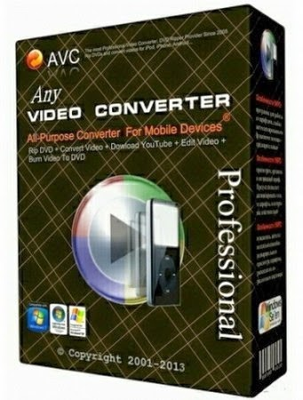Download   Any Video Converter Professional 5.5.8 Full Version + Crack