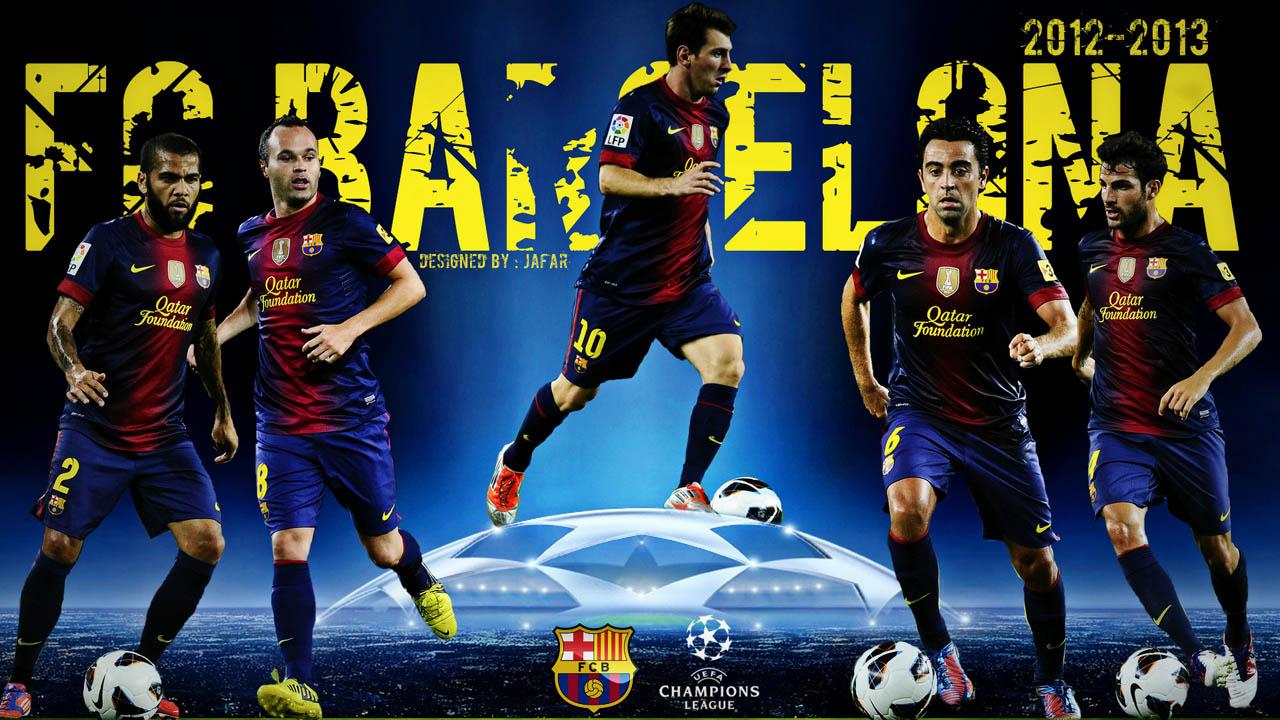 HD Wallpaper Barcelona 2013