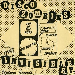 Disco Zombies-The Invisible E.P.