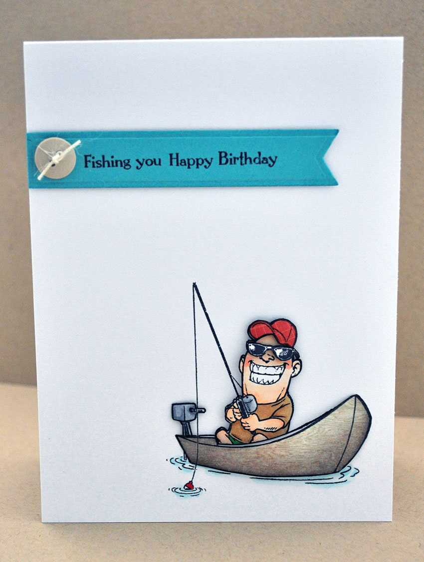Jay Gees Nook Fishing You Happy Birthday