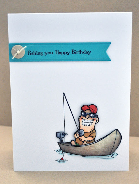 Jay Gee's Nook: Fishing You Happy Birthday