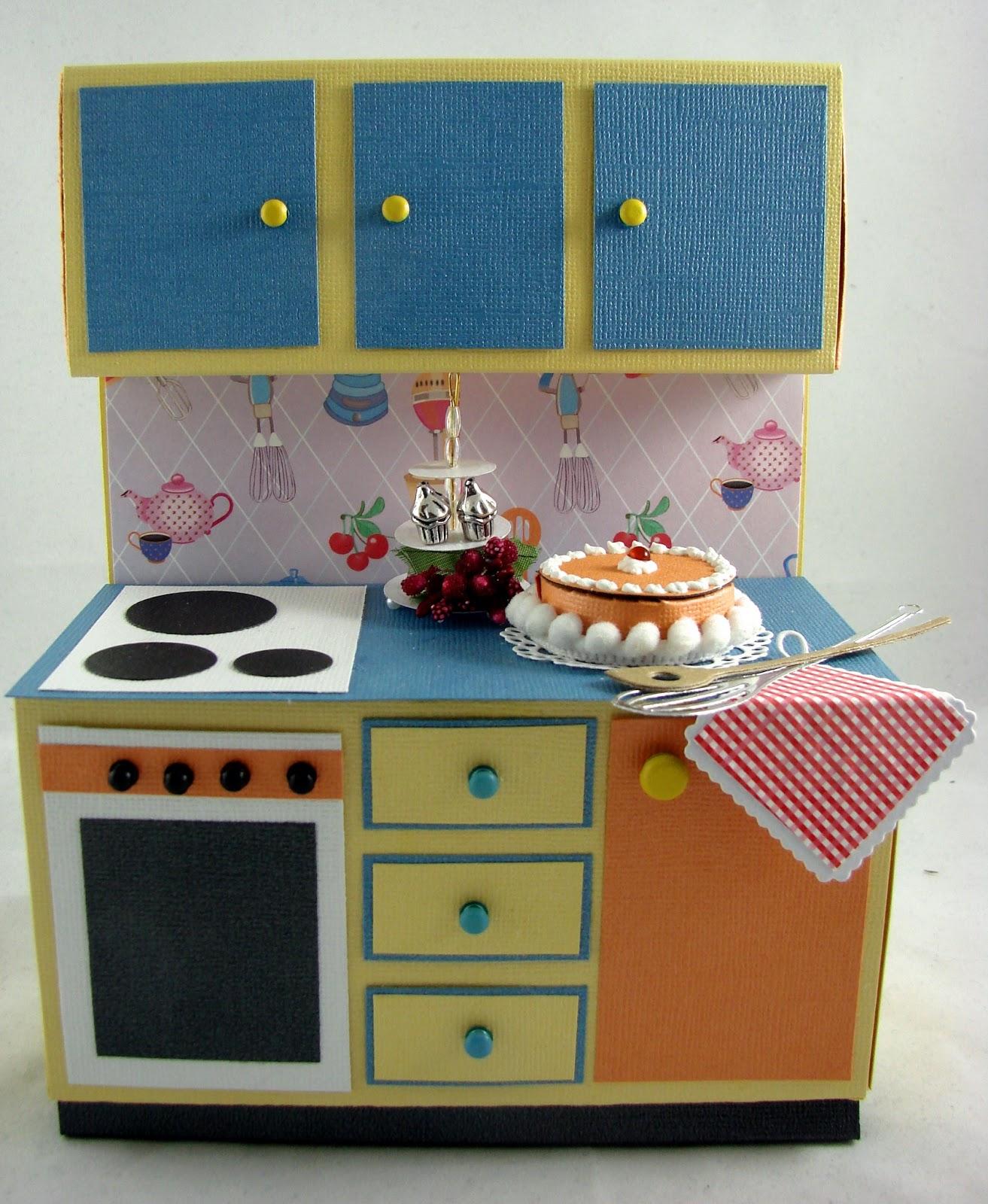 artesanias kartenzauber happy fifties k che. Black Bedroom Furniture Sets. Home Design Ideas