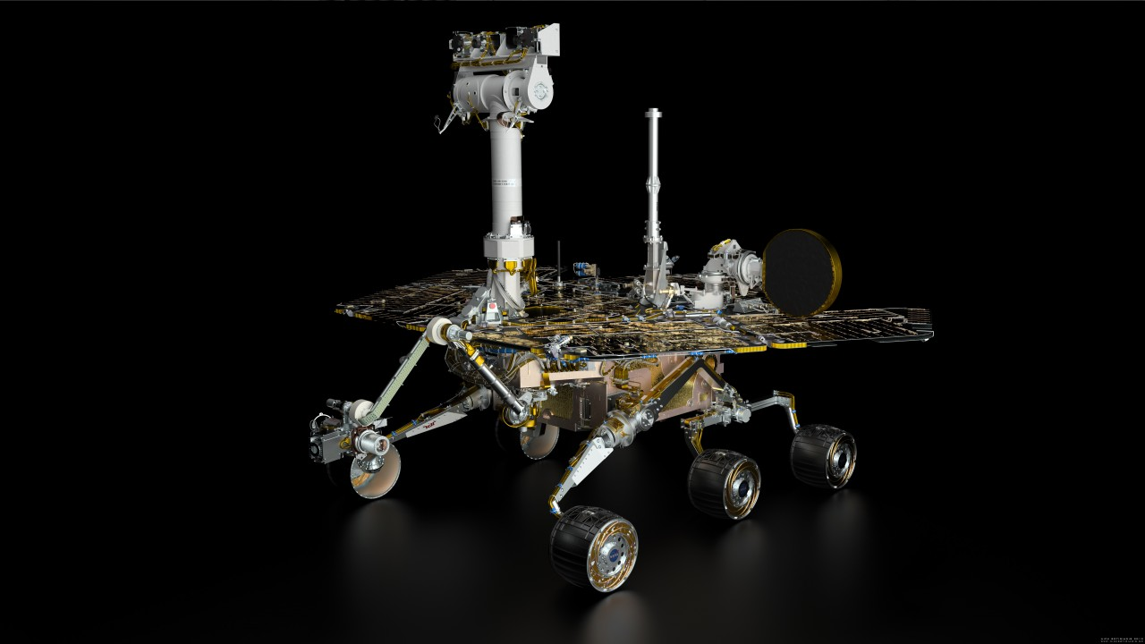 mars rover spirit - 1280×720