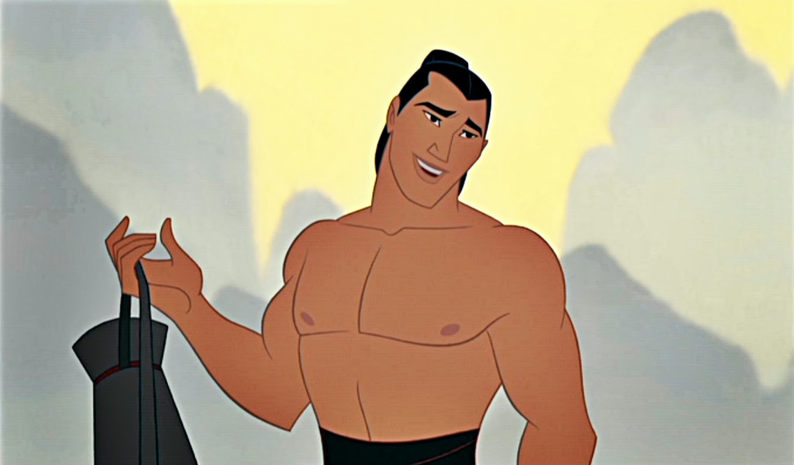 Walt-Disney-Screencaps-Captain-Li-Shang-walt-disney-characters ...