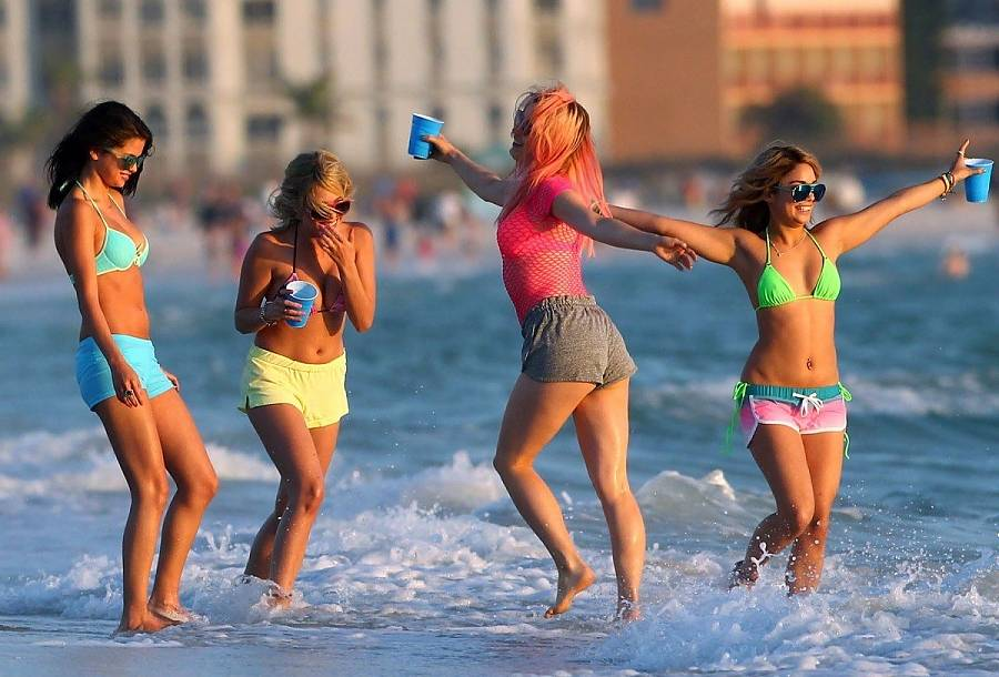 Spring Breakers Spring Break Forever Spring Break Forever Bitches ""