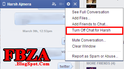 Facebook Chat Tips