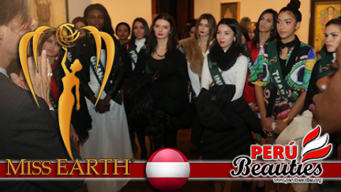Miss Earth 2015 Visit to Velvedere Museum