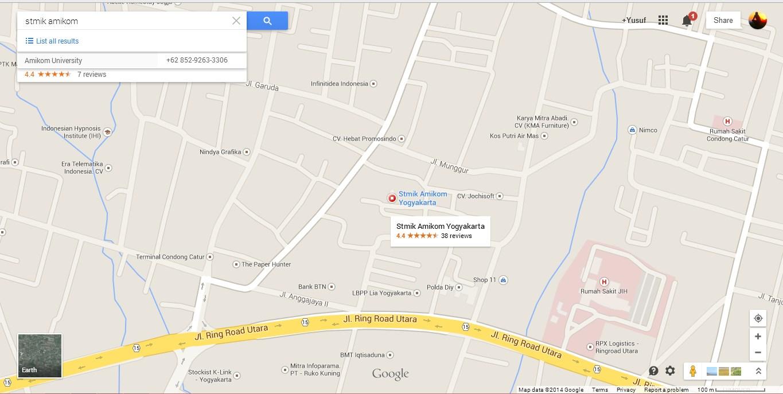 Menambahkan Peta Google Maps di Posting Blog