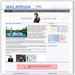 Malaysian-INC High Yield Investment Program Review