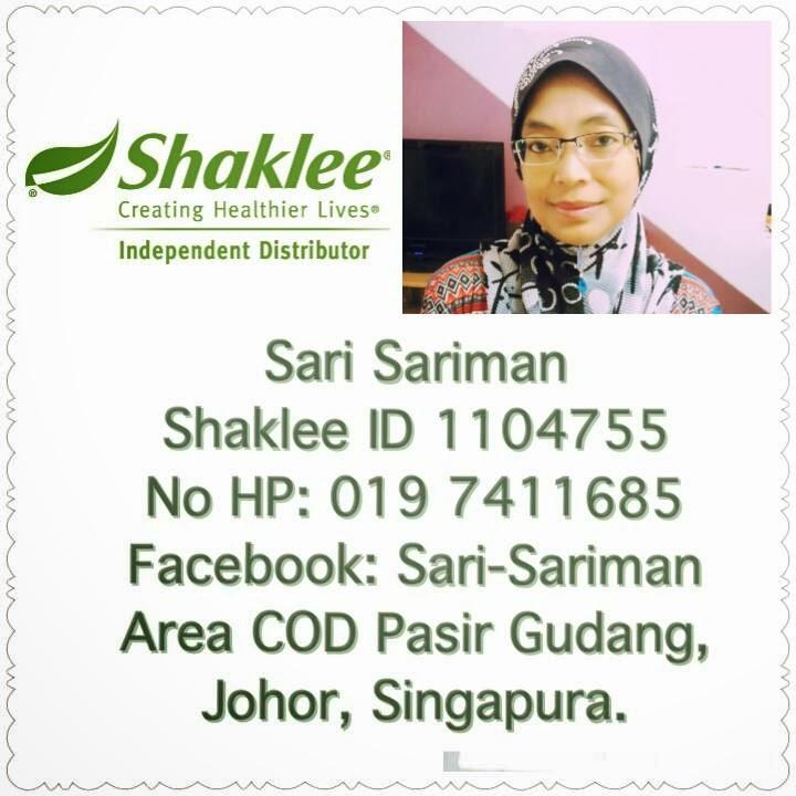 pengedar shaklee singapura