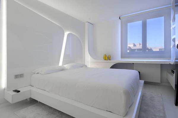 Hogares frescos arquitectura interior de casa minimalista - Casa minimalista interior ...