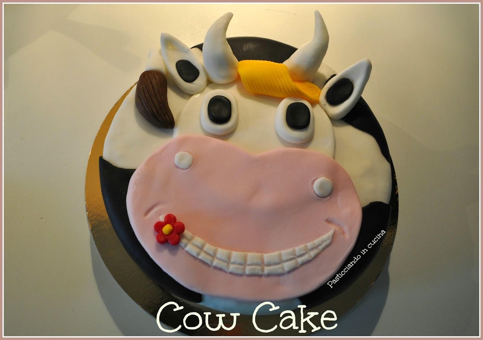 storia di un concorso amatoriale di torte, la mia cow cake e una coppa come premio...primo premio!