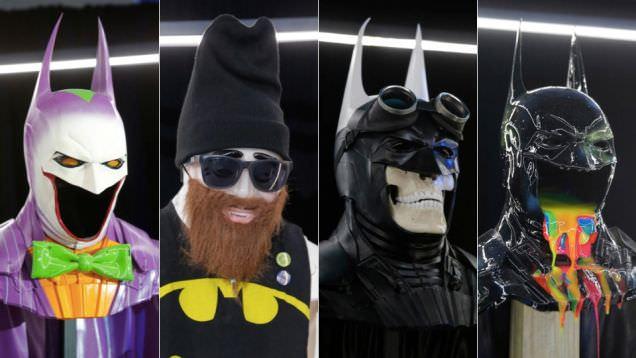 バットマン75周年で作られた、バットマンのケープを使ったアート:画像多め