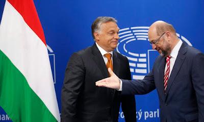 Orbán Viktor, illegális bevándorlás, határzár, Magyarország, Martin Schulz, Európai Parlament, Európai Bizottság, migráció,