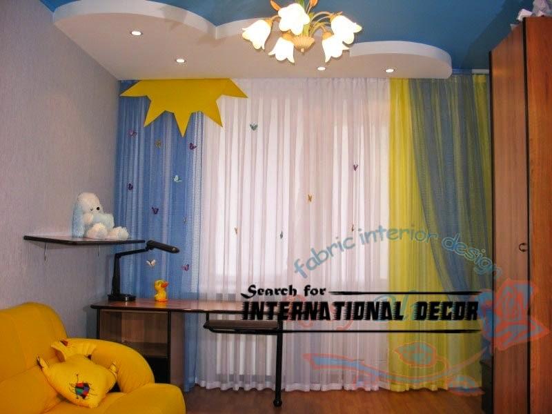 kids curtains for nursery, modern curtains