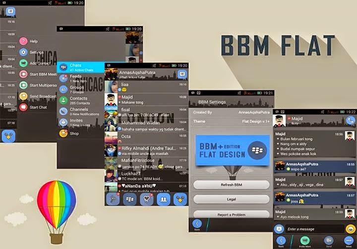 BBM Mod Flat Keren v2.6.0.30 APK