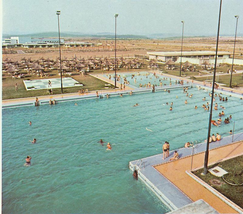 Kinshasa then and now kinshasa 1971 hotel for Piscine olympique
