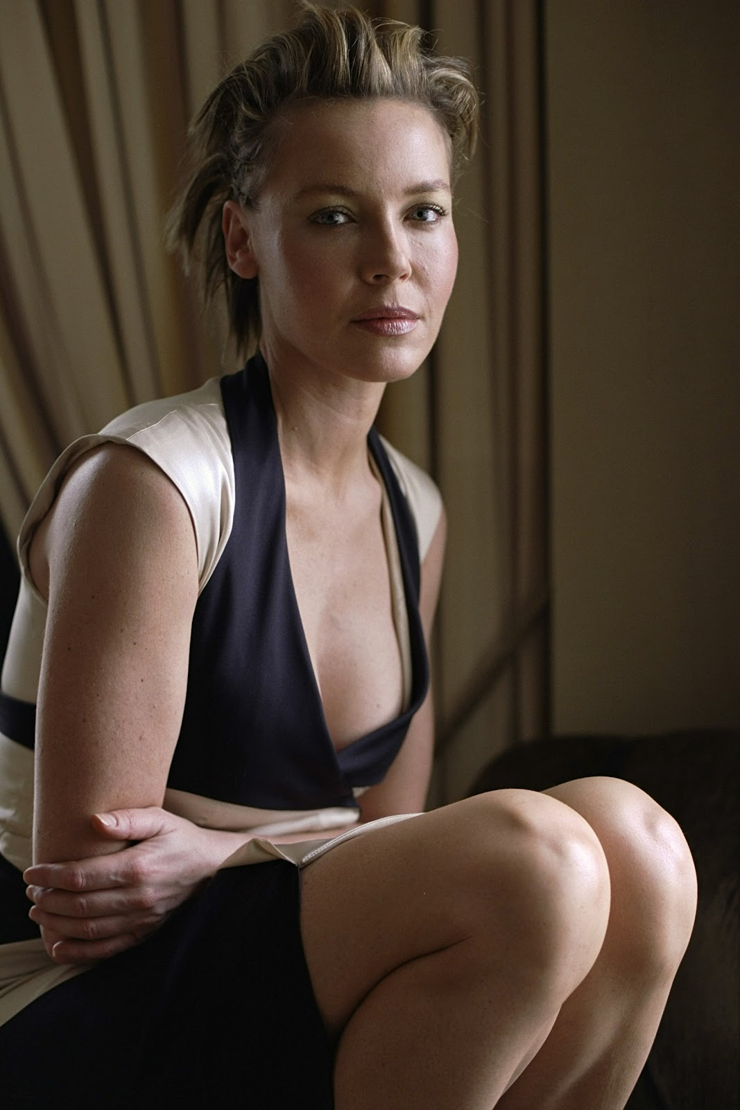 braless Cleavage Connie Nielsen naked photo 2017