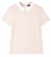 Marc Jacobs, Marc Jacobs Blouse, Marc Jacobs Peter Pan blouse, peter pan blouse, pink blouse