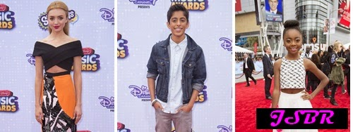 Disney Channel Tapete Vermelho : BR: Peyton List,Karan Brar e Skai Jackson no Radio Disney Music Awards