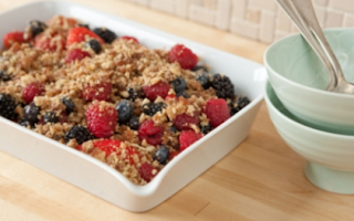 WF raw berry crisp