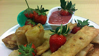 Lumpia Isi Strawberry