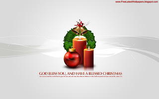 Free Download God Bless Christmas Wallpaper
