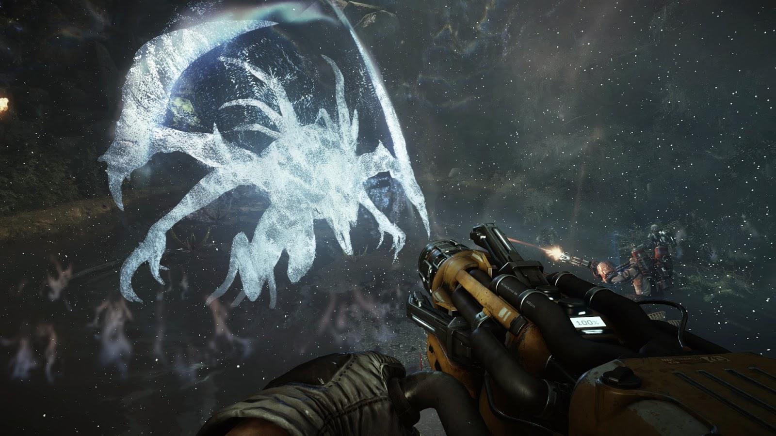 descargar juego 2015 de Evolve extraterrestres para pc Evolve game el juego de la pelicula