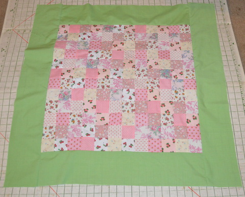 Michelles Romantic Tangle Helen A Baby Quilt Tutorial