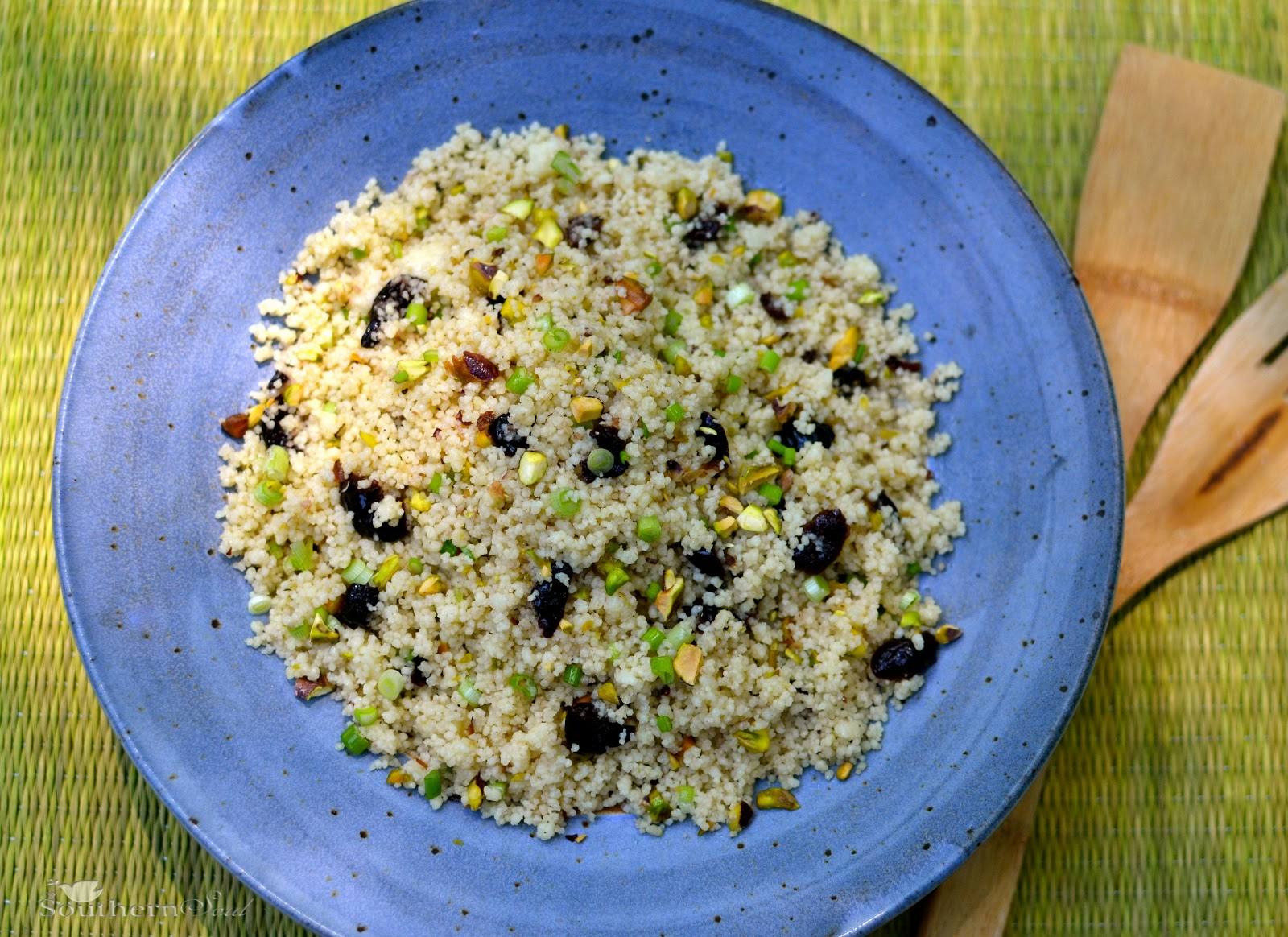 A Southern Soul: Couscous with Spring Onions, Pistachios ...