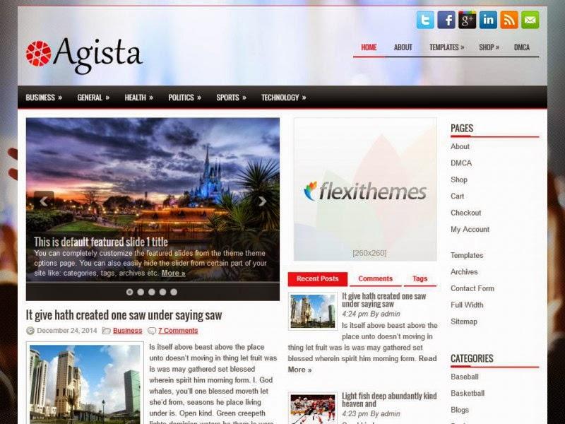Agista - Free Wordpress Theme