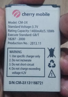 Cherry Mobile Amber Battery