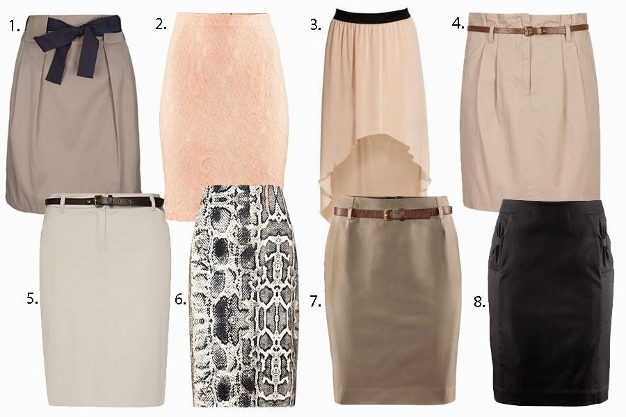 ołówkowa sppódnica, wężowa spódnica, spódnica do biura, elegancka spódnica, beżowa spodnica