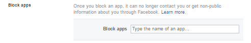 Facebook Block Apps | Ongtrovert