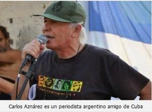 periodista argentino Carlos Aznárez