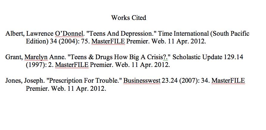 How To Do A Mla Essay Citation