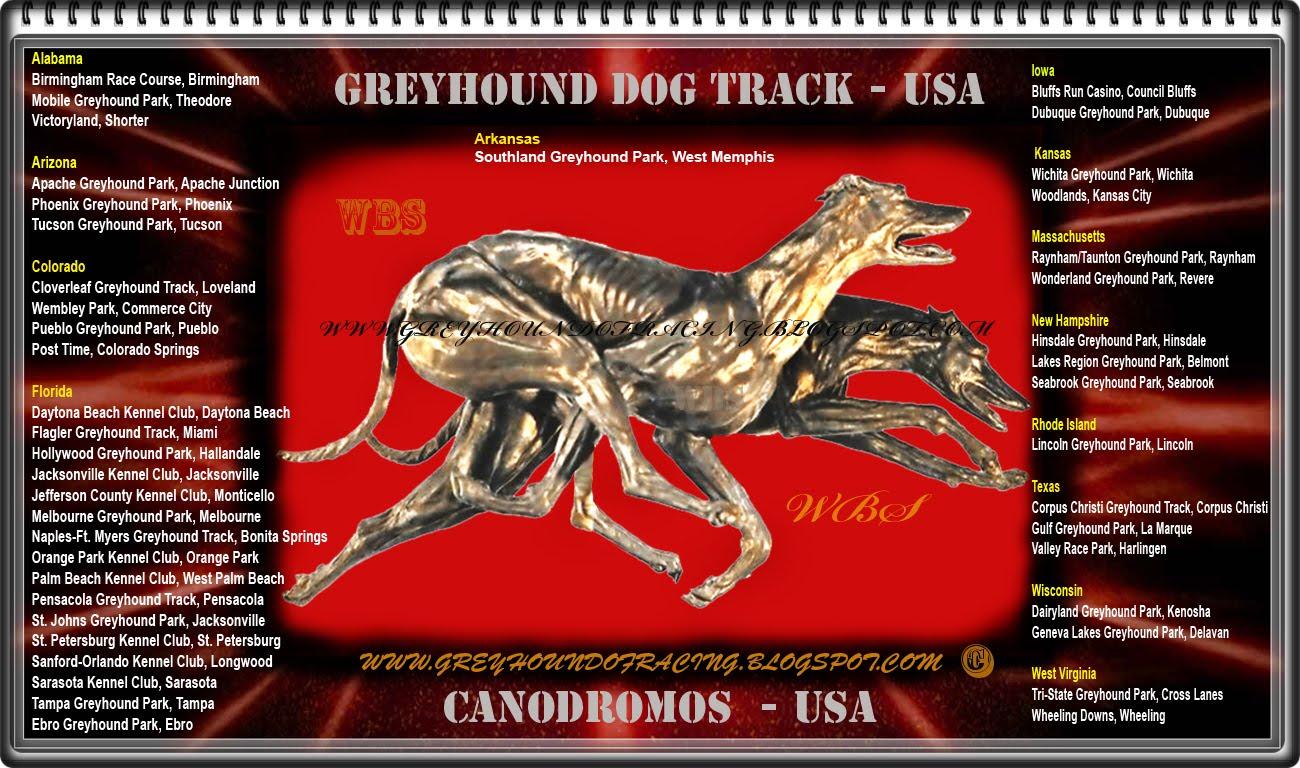 AQUI FIGURAN LOS CANODROMOS OFICIALES DE USA . VISIT THEM !