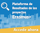 Plataforma de Resultados de los proyectos Erasmus+