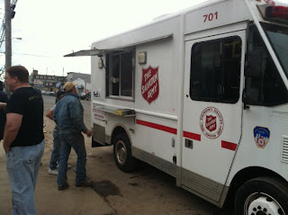 dru, salvation army, hurricane sandy, fedex, fedex express