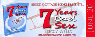 French Village Diaries Brook Cottage Books review promotion 7 Years Bad Sex Nicky Wells
