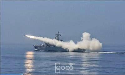 Myanmar Navy Ship Missile Firing