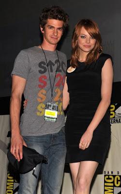 Emma Stone with Boyfriend
