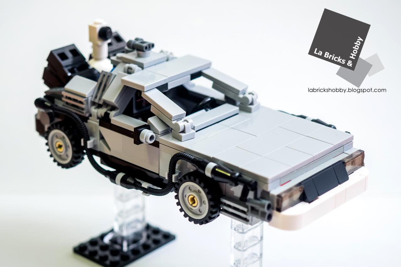 La Bricks Amp Hobby Lego The Delorean Time Machine