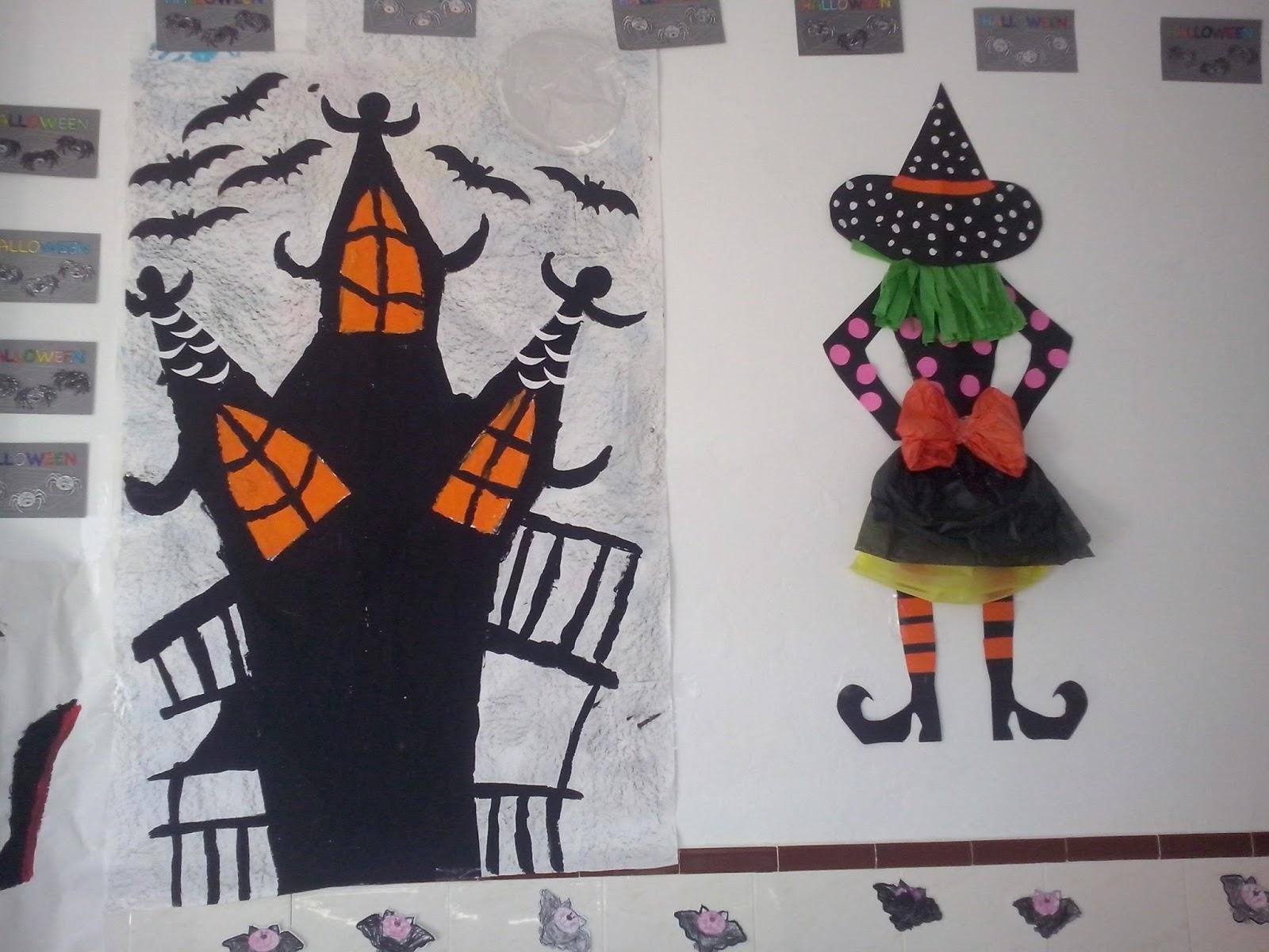 C e i p tajo de las figuras halloween en educaci n infantil - Decoracion halloween infantil ...